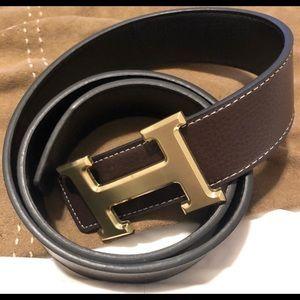 Letter H Belt